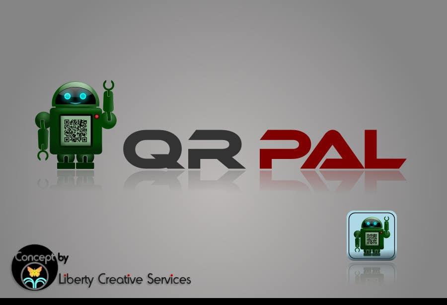 Penyertaan Peraduan #                                        97                                      untuk                                         Logo Design for QR Pal