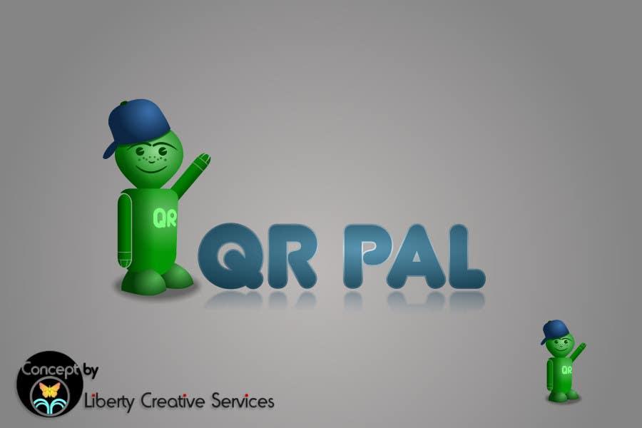 Penyertaan Peraduan #                                        107                                      untuk                                         Logo Design for QR Pal