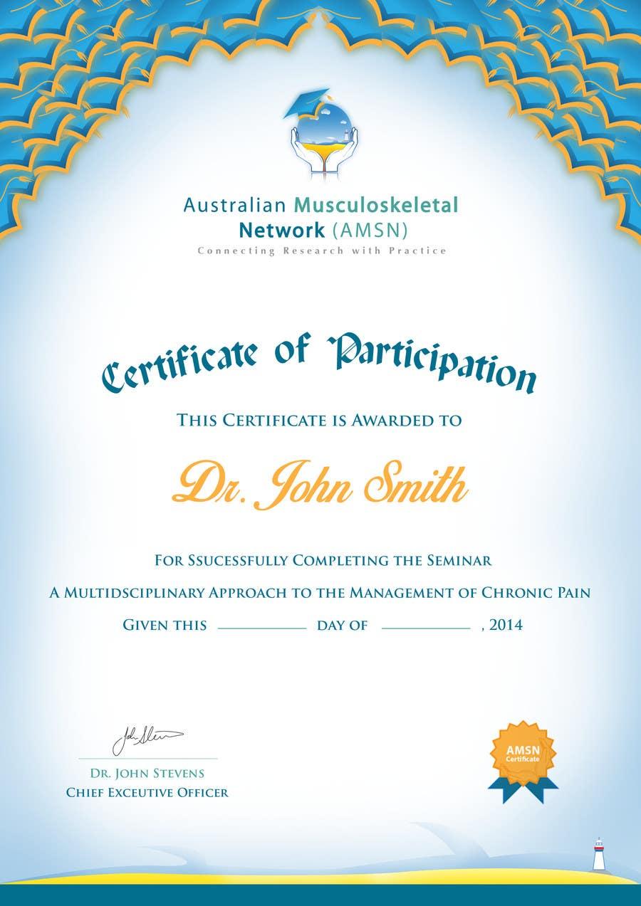 Inscrição nº                                         12                                      do Concurso para                                         Certificate of attendance for our events