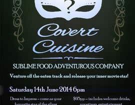 #18 para Design a Flyer for Silver Screen Supper por TayfunSen