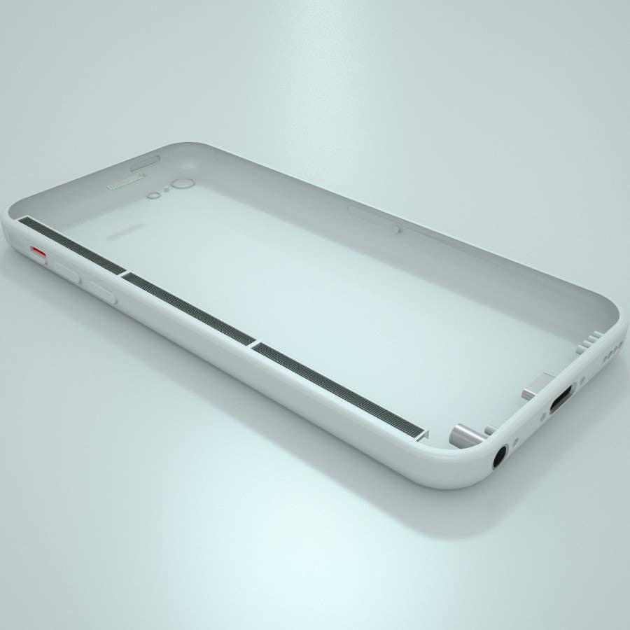 Konkurrenceindlæg #                                        3                                      for                                         3D Modelling Design a iphone case