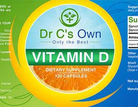 #8 for Doctor C's Own Health Supplements Label Design Contest! af GautamHP