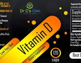 #9 for Doctor C's Own Health Supplements Label Design Contest! af viktormanchev