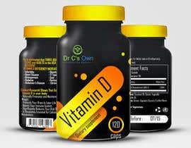 #10 for Doctor C's Own Health Supplements Label Design Contest! af viktormanchev