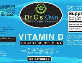 #17 for Doctor C's Own Health Supplements Label Design Contest! af ibanezdustin1314
