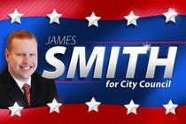 "Graphic Design Intrarea #61 pentru concursul ""Graphic Design for James Smith for City Council"""