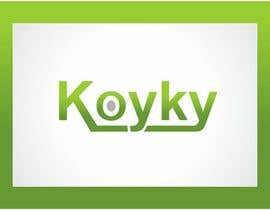 #126 para Logo Design for Koyky por timedsgn