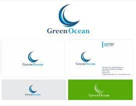 #747 para Logo and Business Card Design for Green Ocean por oxygenwebtech