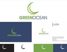 #665 for Logo and Business Card Design for Green Ocean by oxygenwebtech