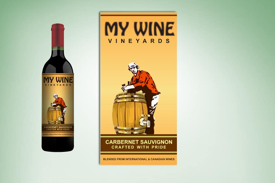 Contest Entry #41 for Graphic Design for An online custom wine label company