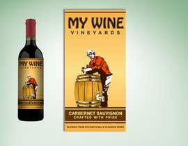 nº 41 pour Graphic Design for An online custom wine label company par PMcreatives