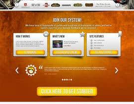 #24 for Design a Website for Game Guild Hosting Company af arcBshopEyek