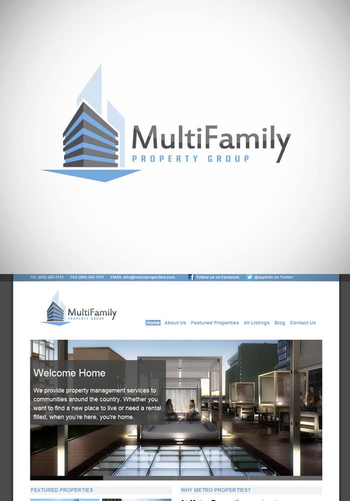 Inscrição nº 298 do Concurso para Logo Design for MultiFamily Property Group