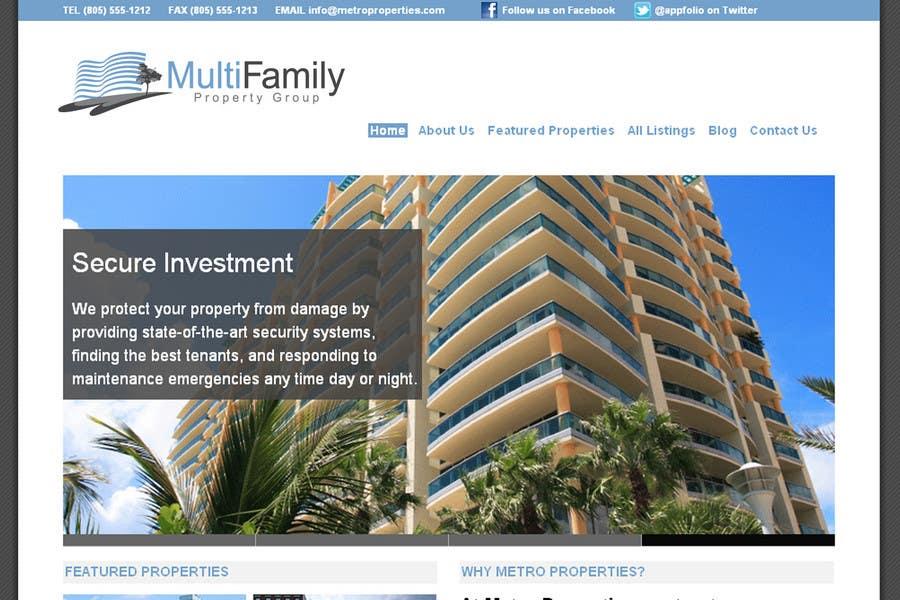 Penyertaan Peraduan #312 untuk Logo Design for MultiFamily Property Group