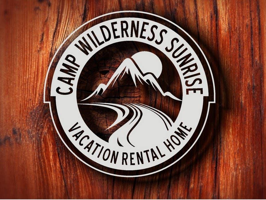 Inscrição nº                                         122                                      do Concurso para                                         Logo Design for Camp Wilderness Sunrise