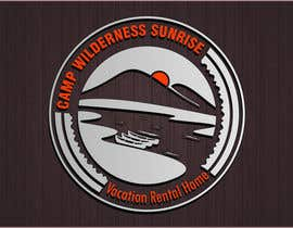 #77 cho Logo Design for Camp Wilderness Sunrise bởi alfianrismawan