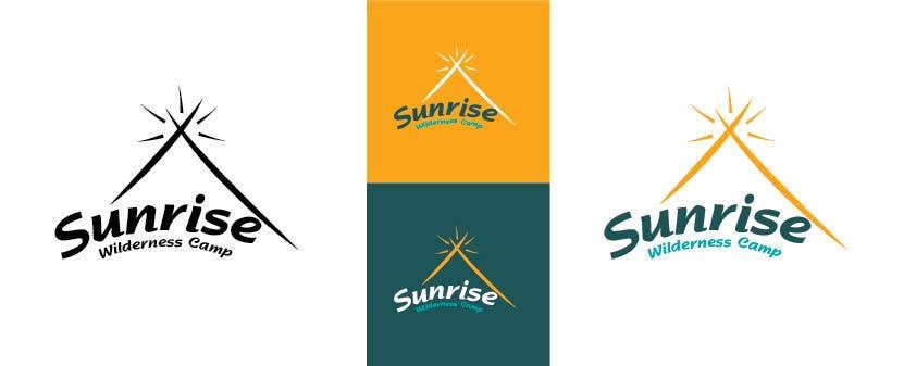 Inscrição nº                                         52                                      do Concurso para                                         Logo Design for Camp Wilderness Sunrise