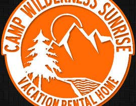 Mjauu tarafından Logo Design for Camp Wilderness Sunrise için no 113