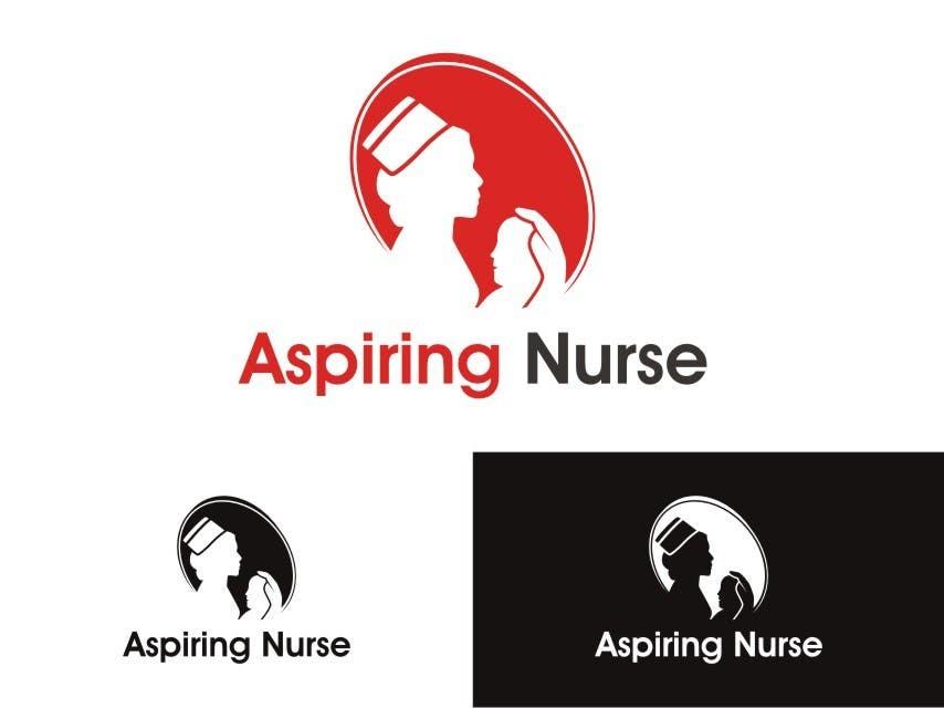 Kilpailutyö #                                        37                                      kilpailussa                                         Logo design for aspiring nurse
