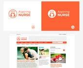 Graphic Design Kilpailutyö #90 kilpailuun Logo design for aspiring nurse