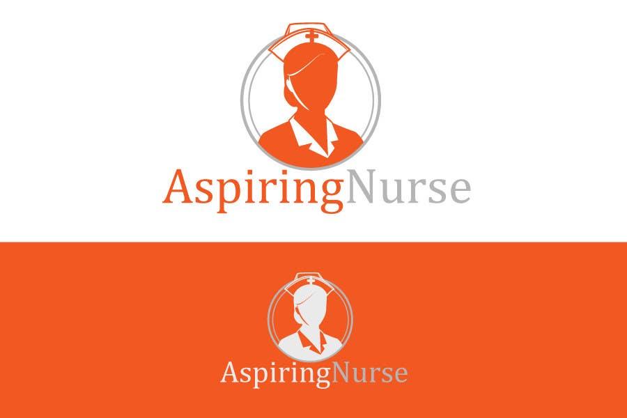 Kilpailutyö #                                        22                                      kilpailussa                                         Logo design for aspiring nurse