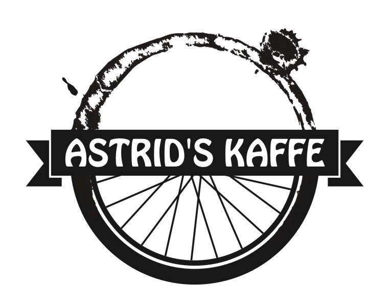a bicycle cafe logo