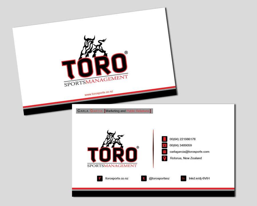 Penyertaan Peraduan #                                        12                                      untuk                                         Design a Business Cards for a Sports Company