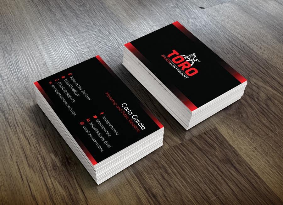 Penyertaan Peraduan #                                        18                                      untuk                                         Design a Business Cards for a Sports Company