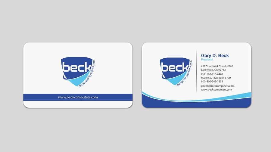 Penyertaan Peraduan #156 untuk Design some Business Cards