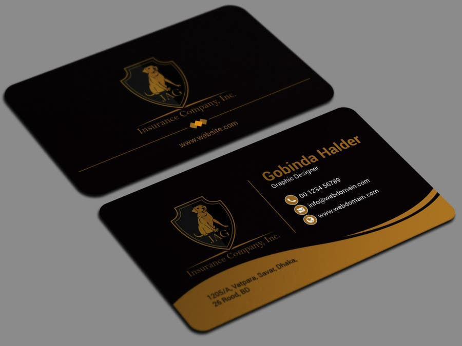 Entry #11 by smartghart for Design EASY NICE Business Cards ...