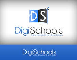 #64 para Logo Design for DigiSchools por baloulinabil