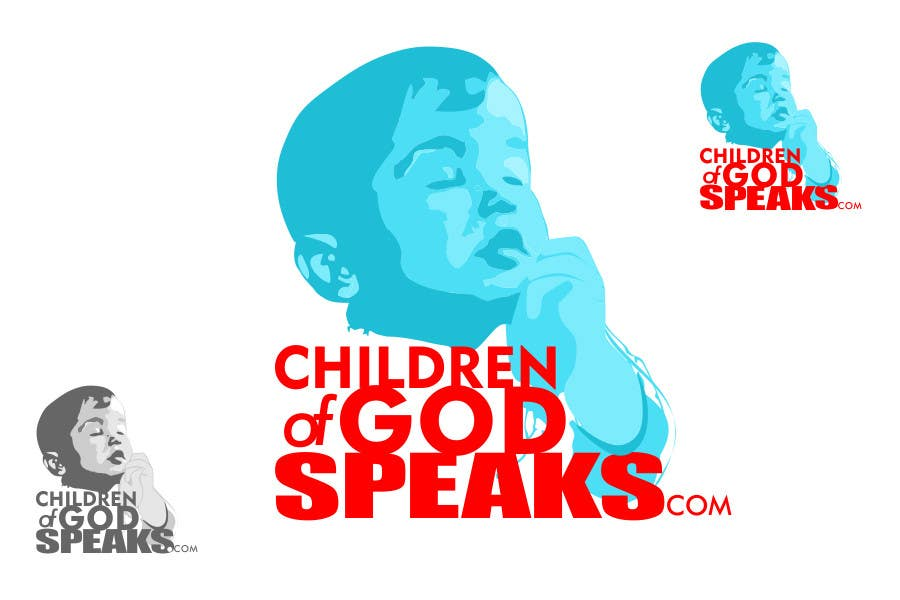 Конкурсная заявка №70 для Logo Design for www.childrenofgodspeaks.com