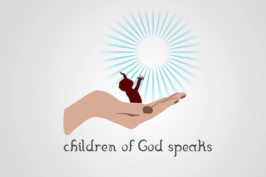 Конкурсная заявка №105 для Logo Design for www.childrenofgodspeaks.com