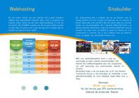 Graphic Design Entri Peraduan #10 for Design a Flyer for hosting company