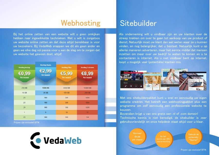 Penyertaan Peraduan #                                        33                                      untuk                                         Design a Flyer for hosting company