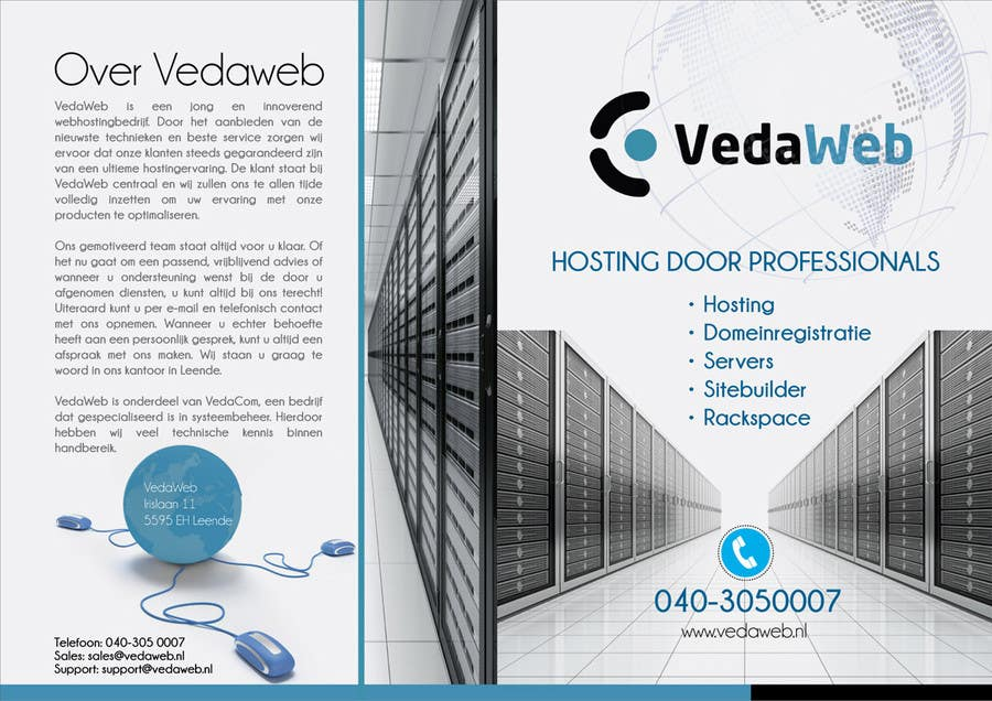 Penyertaan Peraduan #                                        8                                      untuk                                         Design a Flyer for hosting company
