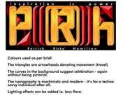 Proposition n° 14 du concours Graphic Design pour Logo Design for It's for my personal blog. Name: Patrick 'Ricky' Hamilton