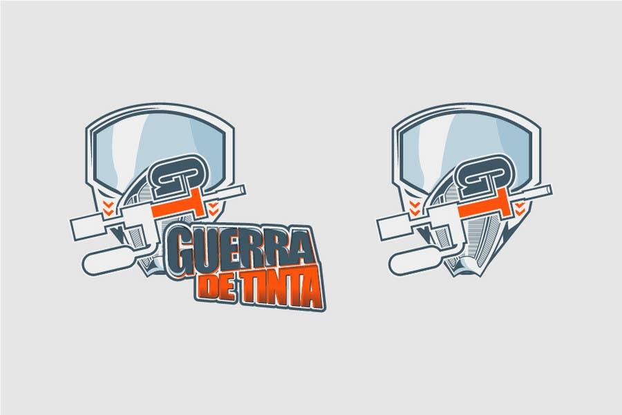 Inscrição nº                                         231                                      do Concurso para                                         Logo Design for Guerra de Tinta