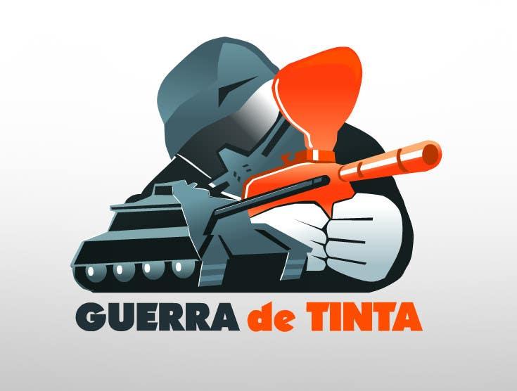 Inscrição nº                                         204                                      do Concurso para                                         Logo Design for Guerra de Tinta