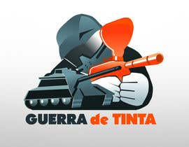 #204 para Logo Design for Guerra de Tinta por drawnsean