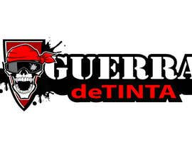 #240 para Logo Design for Guerra de Tinta por MyPrints