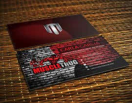 #17 для Design some Business Cards for Muscle Thug от LIPScreations