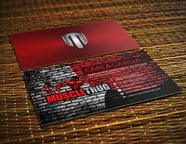 #22 для Design some Business Cards for Muscle Thug от LIPScreations