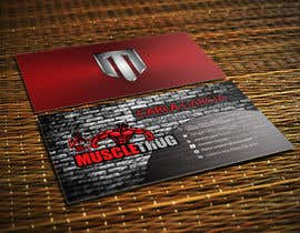#26 для Design some Business Cards for Muscle Thug от LIPScreations