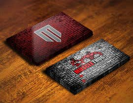 #32 для Design some Business Cards for Muscle Thug от IllusionG