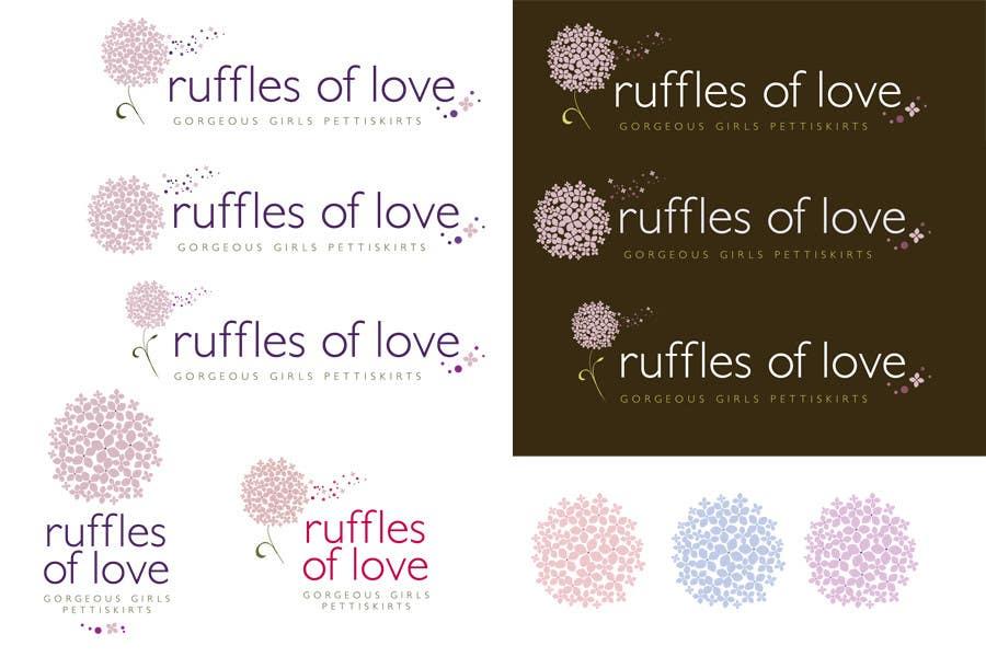 Συμμετοχή Διαγωνισμού #97 για Logo Design for Ruffles of Love