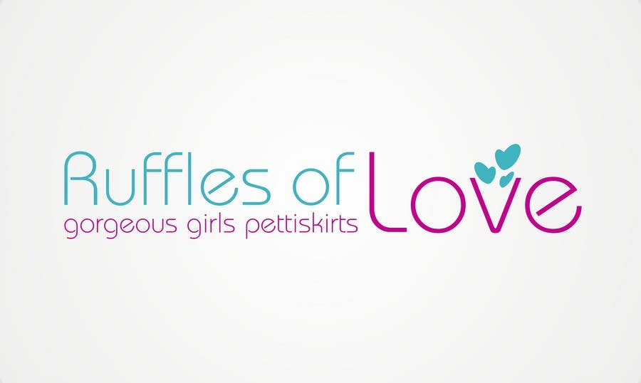 Entry #44 by epeslvgry for Logo Design for Ruffles of Love