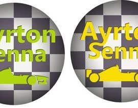 #15 para Preciso de um icone original sobre Ayrton Senna (sem foto) por JoaoPedroPereira