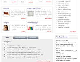 #5 pentru Website Design for auction/classifieds de către AaryaInf