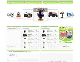 #11 pentru Website Design for auction/classifieds de către farhanpm786